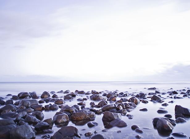 Rocks of Burleigh Head Beach, Gold Coast