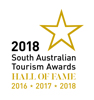 South Australian Tourism Awards, Hosted Accommodation, HALLOFFAME