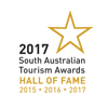 South Australian Tourism Awards, Self Contained Accommodation, HALLOFFAME